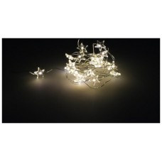 NAVIDAD LUCES ESTRELLAS 20 LED BLANCO CALIDO IP44 (Espera 4 dias)
