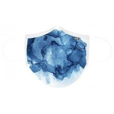 MASCARILLA DE TELA ADULTO D-COOL AQUARELA BLUE (Espera 4 dias)