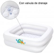 PISCINA INFANTIL CUADRADA 86X86X25 CM (Espera 4 dias)