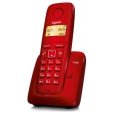 TELEFONO FIJO GIGASET A120 INALAMBRICO ROJO