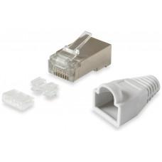 KIT 100 CONECTORES RJ45 EQUIP CATEGORIA 6  FPT