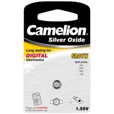 Boton Oxido plata SR41W 1.55V 0% Mercurio (1 pcs) Camelion (Espera 2 dias)