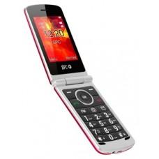 SPC 2318N Opal Telefono Movil BT FM Rojo
