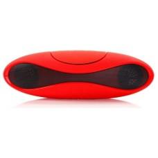 Altavoz Portátil Bluetooth Oval Rojo (Espera 2 dias)