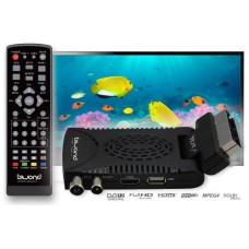 Mini TDT SCART HD Reproductor-Grabador DVB-T2 TDTy+ Sound BIWOND (Espera 2 dias)