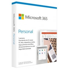 Microsoft 365 Personal: 1 Dispositivo / 1 año (Espera 2 dias)