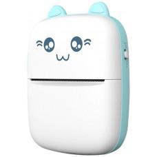 Mini Impresora Térmica Bluetooth KatPrint Azul (Espera 2 dias)