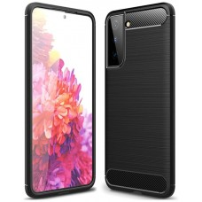 """Funda Samsung Galaxy S21 6.2"""" Fibra Carbono Negro (Espera 2 dias)"""