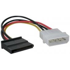 Cable Corriente Adapt. Molex a SATA (Espera 2 dias)