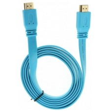 Cable Plano Ultra HDMI 4K 1.5m Azul Biwond (Espera 2 dias)