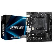 PLACA ASROCK A520M-HDV AMD AM4 2DDR4 HDMI PCIE3.0 (Espera 4 dias)