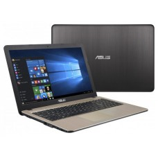 "ASUS X540BA-GQ311T ordenador portatil DDR4-SDRAM Portátil 39,6 cm (15.6"") 1366 x 768 Pixeles 7th Generation AMD A6-Series APUs 4 GB 256 GB SSD Wi-Fi 4 (802.11n) Windows 10 Home Negro, Chocolate (Espera 4 dias)"
