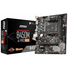 PLACA BASE MSI AM4 B450M-A PRO MAX