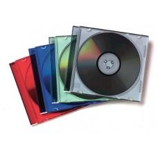 PACK 25 CAJAS CD/DVD SLIM SURTIDOS FELLOWES 98317 (Espera 4 dias)