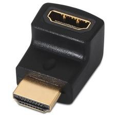 ADAPTADOR HDMI ACODADO AH-AM NEGRO AISENS A121-0124