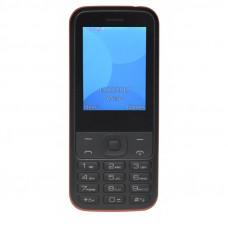 """TELEFONO SENIOR DENVER GSM900/1800 TFT 2.4"""" BOTON SOS BASE DE CARGA NEGRO"""