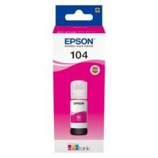 Epson Botella Tinta Ecotank 104 Magenta 70ml