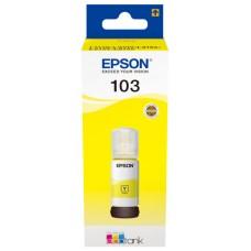 Epson Botella Tinta Ecotank 103 Amarillo 70ml