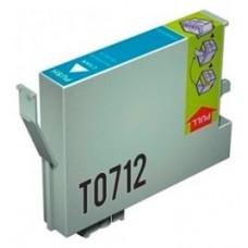 CARTUCHO GENERICO COMP. EPSON T0712 CYAN T0712 (Espera 4 dias)