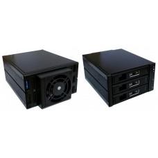 KIT HD HOTSWAP COOLBOX  3X3.5 SATASAS COO-HSW-2533