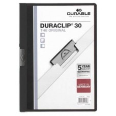 DOSSIER DURABLE A4 NEGRO