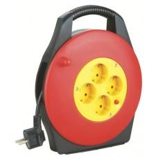 Enrollador de Cable de 10 Metros Cable 3X1.5MM ELBAT (Espera 2 dias)