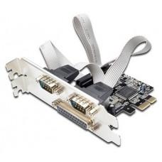 Ewent EW1158 tarjeta y adaptador de interfaz Interno Paralelo, De serie, VGA (Espera 4 dias)