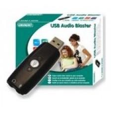 TARJETA DE SONIDO EWENT EW3751 USB 5.1 AUDIO BLASTER (Espera 4 dias)