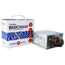 FUENTE ALIMENTACION ATX  300W  BASIC500GR COOLBOX