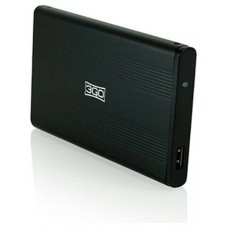 "CAJA EXTERNA HDD 2.5"" SATA-USB 3GO NEGRA (Espera 4 dias)"