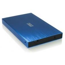 "CAJA EXTERNA HDD 2.5"" SATA-USB 3GO AZUL (Espera 4 dias)"