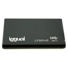 """iggual Caja externa SSD 2.5"""" SATA USB 3.0"""