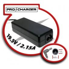 Carg. 19.5V/2.15A 6.5mm x 4.4mm 42w Pro Charger (Espera 2 dias)