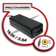 Carg. 18.5V/3.5A 4.8mm x 1.7mm 65w Pro Charger (Espera 2 dias)