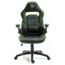 Silla Gaming GM400 Negro/Verde MUVIP (Espera 2 dias)