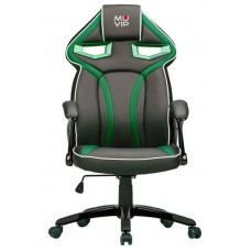 Silla Gaming GM300 Negro/Verde MUVIP (Espera 2 dias)