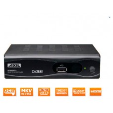 RECEPTOR DVB-T2  DOMESTICO AXIL RT0430T2 ALTA