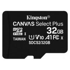 MEMORIA MICRO SD 32GB KINGSTON CLASE 10 UHS-I (Espera 4 dias)