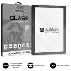 SUBBLIM Protector de Cristal Templado Extreme Tempered Glass LENOVO M10 TB-X605 (Espera 4 dias)