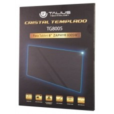 Talius - Cristal Templado para Tablet Zaphyr 8005 -