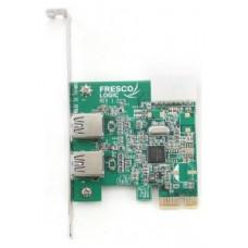 TARJETA PCIE GEMBIRD 2x USB 3.0