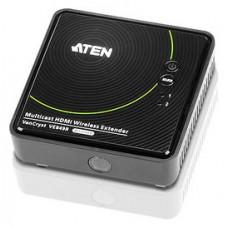 Aten VE849R extensor audio/video Receptor AV Negro (Espera 4 dias)