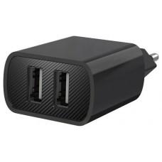 Cargador de Corriente L71 2.4A USB Negro XO (Espera 2 dias)